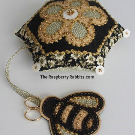 Beekeeper Pincushion e-pattern