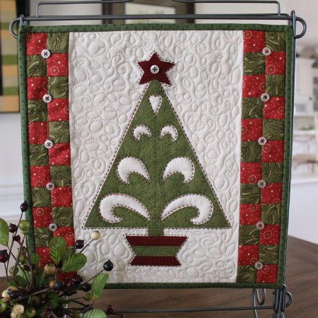 Christmas Folk Art Tree e-Pattern