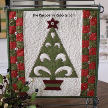 Christmas Folk Art Tree e-Pattern