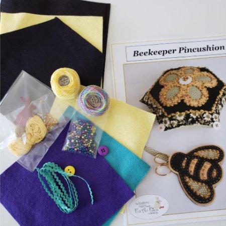 Beekeeper Pincushion Kit - Confetti