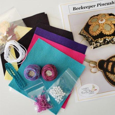 Beekeeper Pincushion Kit - Lollipop