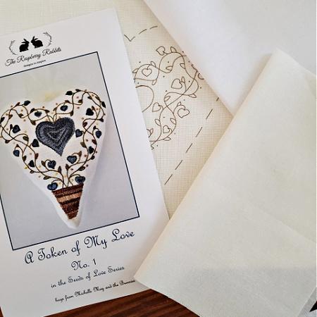 Token of My Love No. 1 Printed Linen
