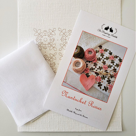 Nantucket Roses Printed Linen