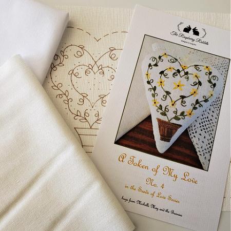 Token of My Love No.4 Printed Linen
