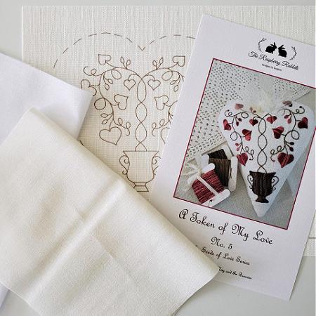 Token of My Love No.5 Printed Linen