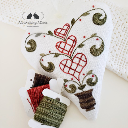 Token of My Love No.8 Embroidery KIT