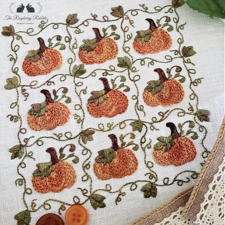 Nine Patch Pumpkins KIT