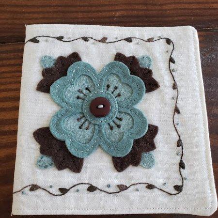 Ready, Set, Stitch - Ohio Rose needle keep Kit