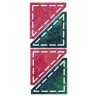 GO! Half Square Triangle 2 1/2