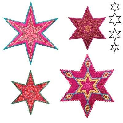 GO! Star Medley 6 Point by Sarah Vedeler