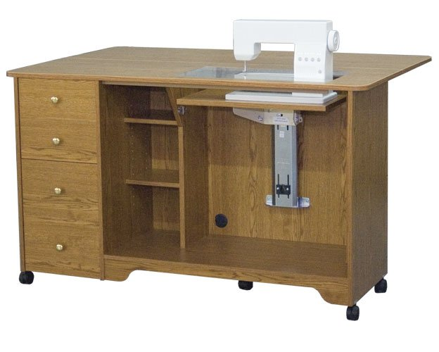 5680 Elite Airlift Sewing Cabinet/Cutting Table