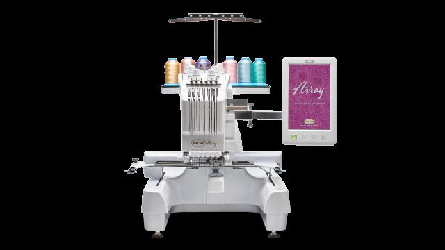 Baby Lock Array BMY6, 6 needle embroidery machine
