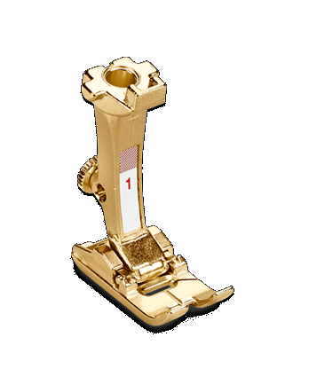 BERNINA Gold-Plated Presser Foot #1