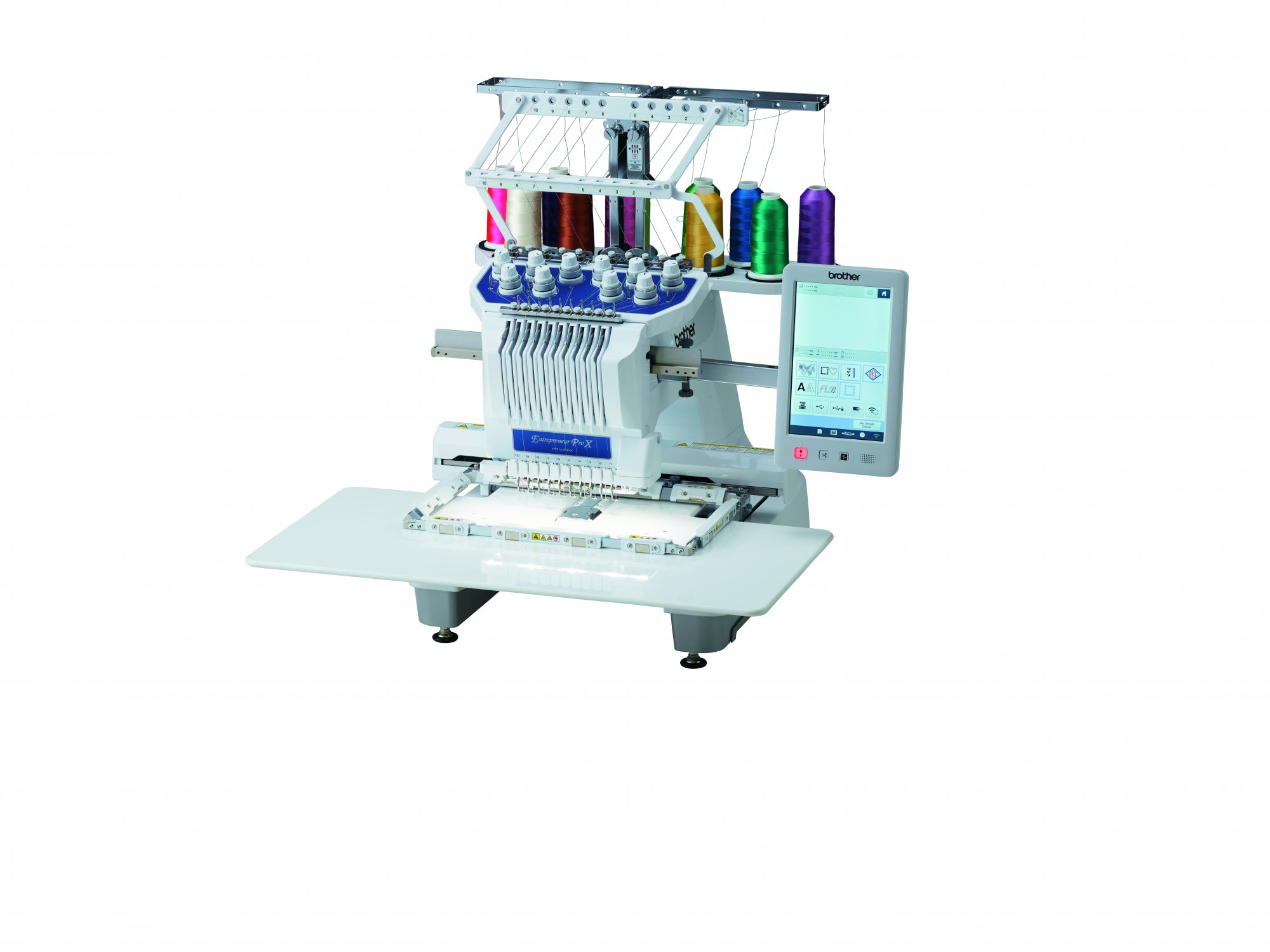 Brother PR1055X 10 Needle Home Embroidery Machine
