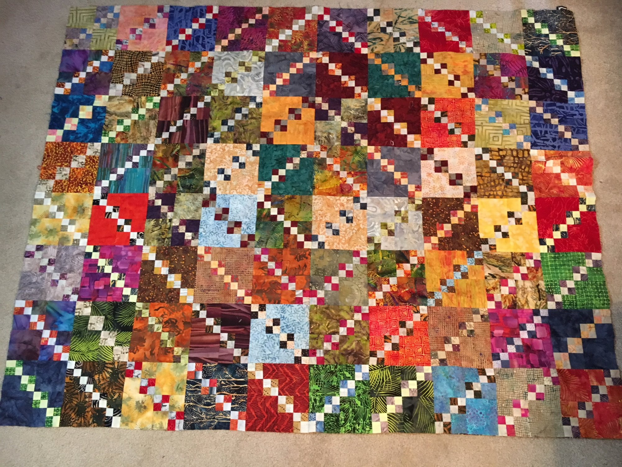 Triple Four Patch Quilt With Judy Doenias