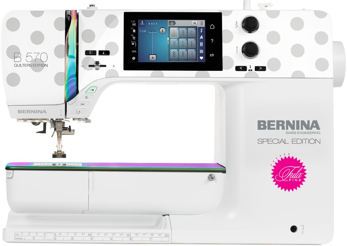 Bernina Special Editions 570 QE Tula Pink