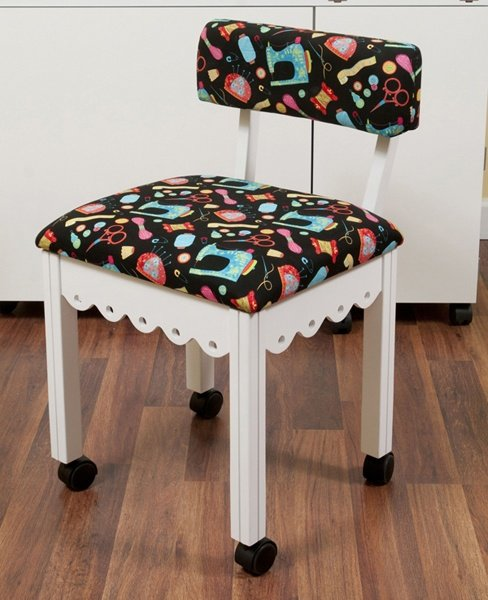 White Sewing Chair