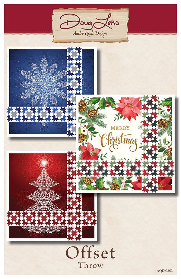 Gradients Holiday Digital Panel with pattern