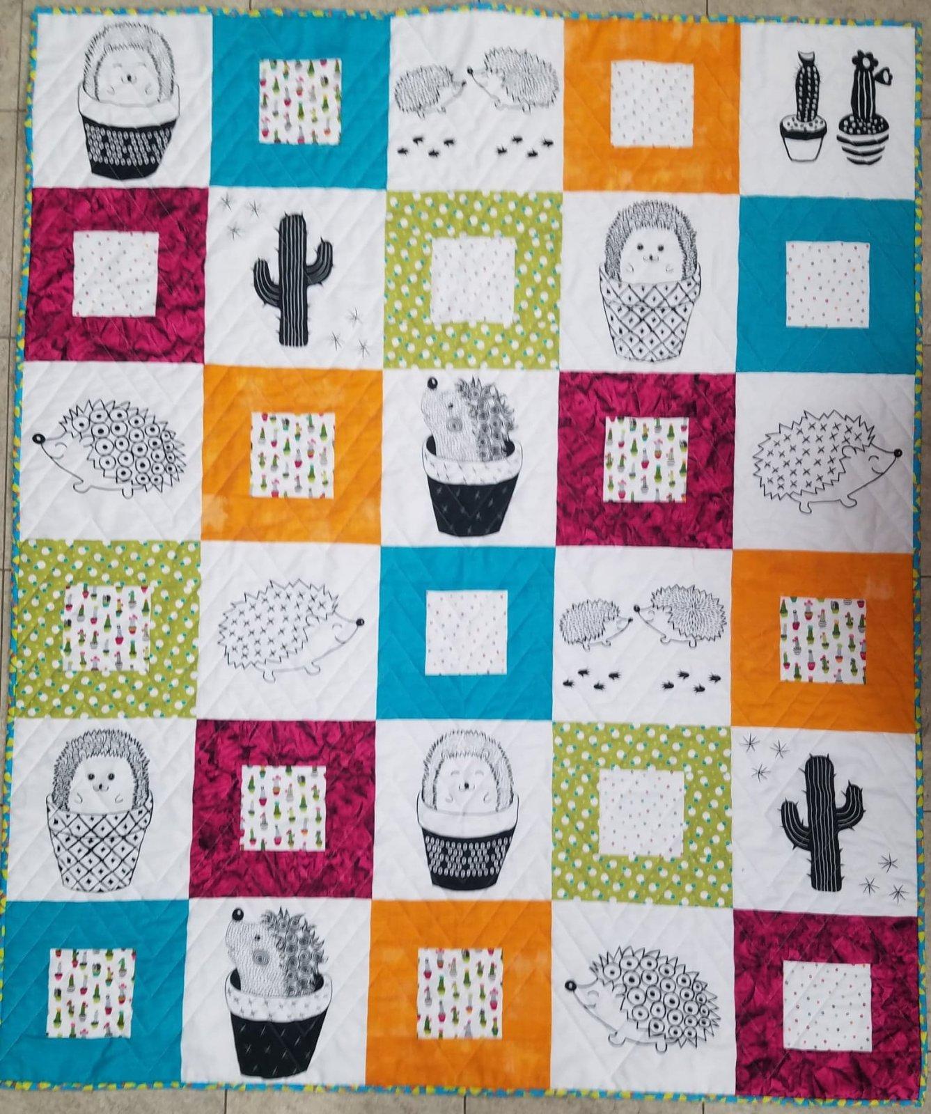 Cute Cactus Life Quilt Kit