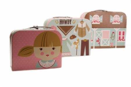 Howdy Sew On The Go Suitcases