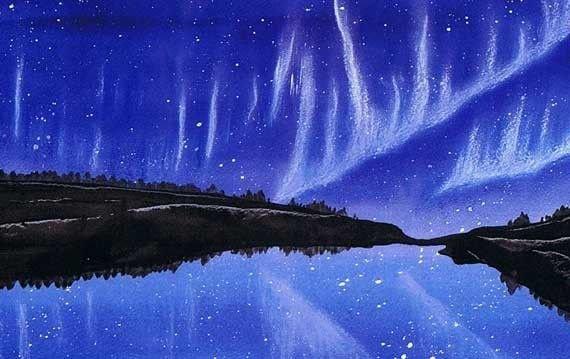 Aurora Borealis Panel