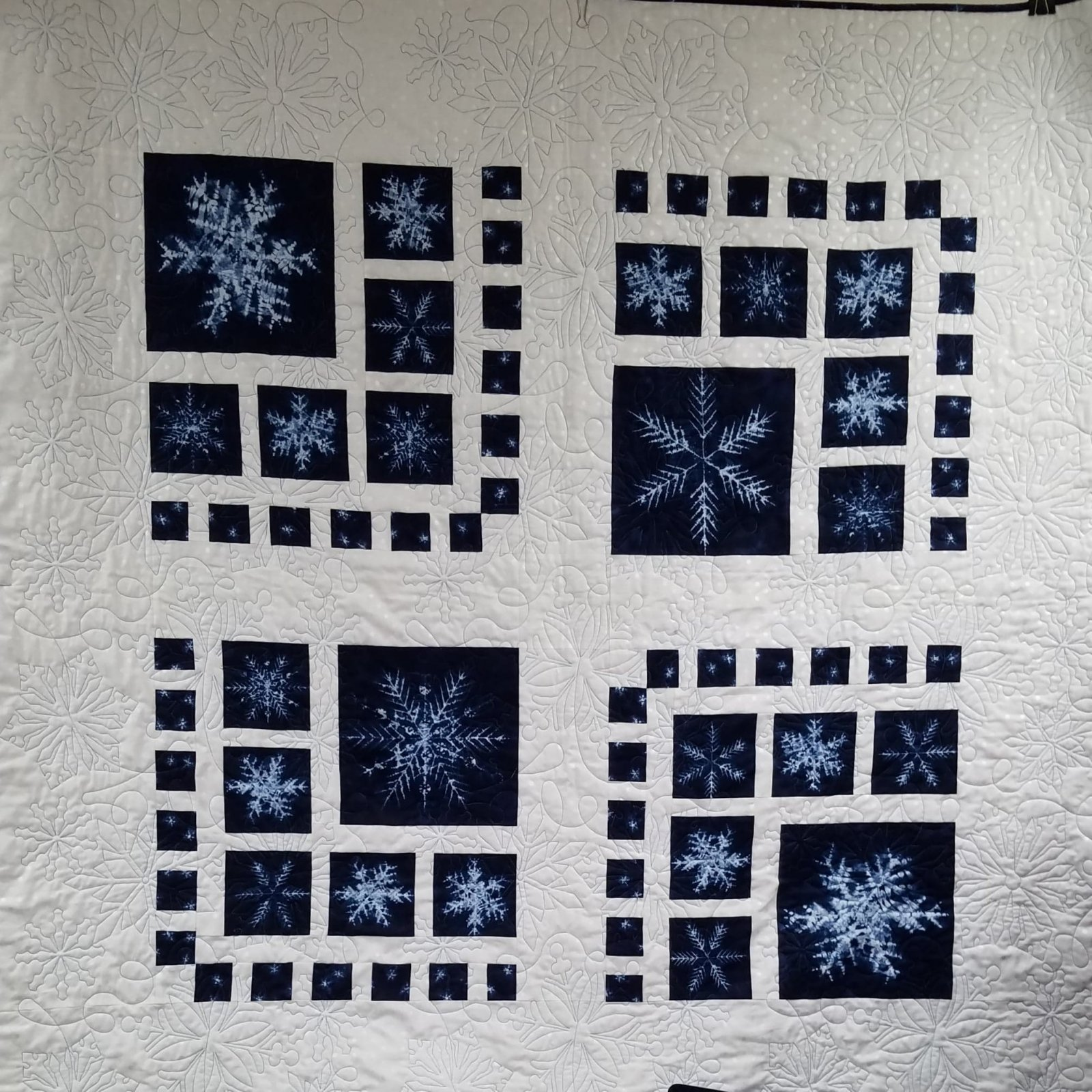 Frost On The Windows Quilt Kit