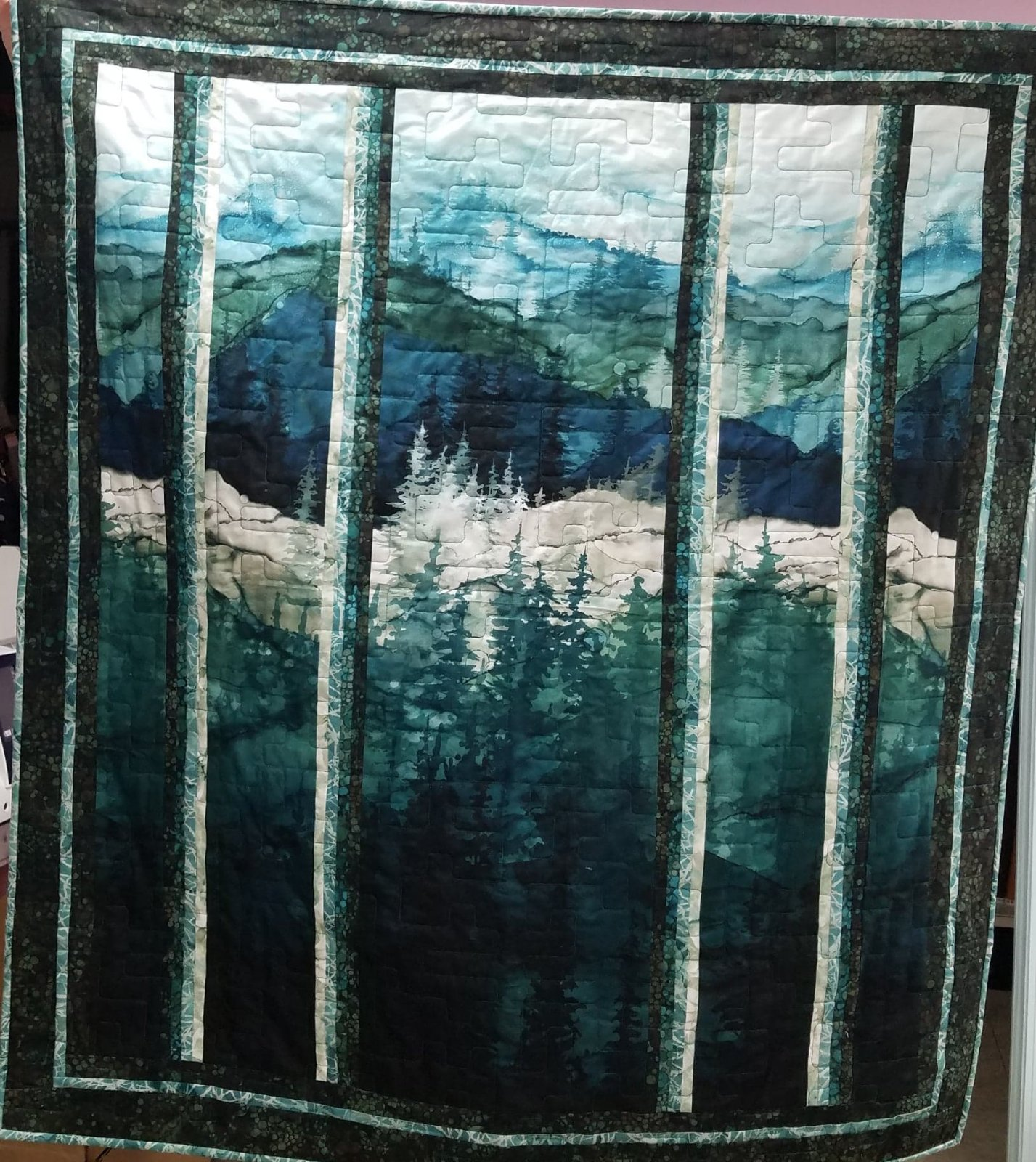 Whispering Pines Wall Quilt Kit
