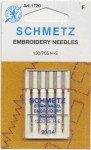 Schmetz Embroidery Machine Needle Size 14/90
