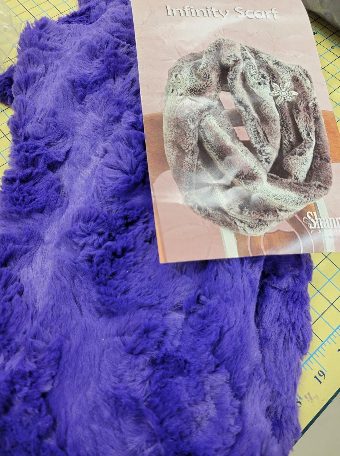 Infinity Scarf Kit Glacier Viola