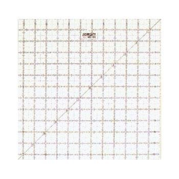 Frosted Ruler Square 12.5