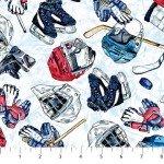 Power Play Hockey Equipment White