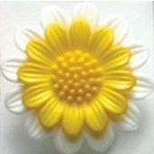 Dill Flower  Buttons 1 1/8