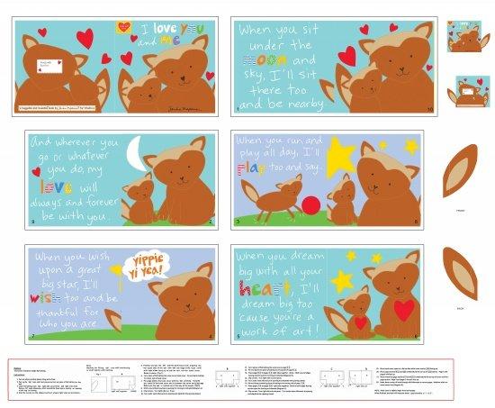I Love You & Me Soft Book Panel