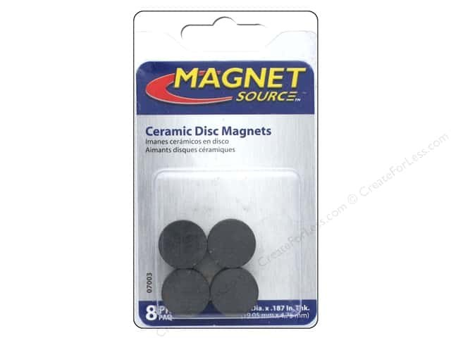 Ceramic Disc Magnet 3/4