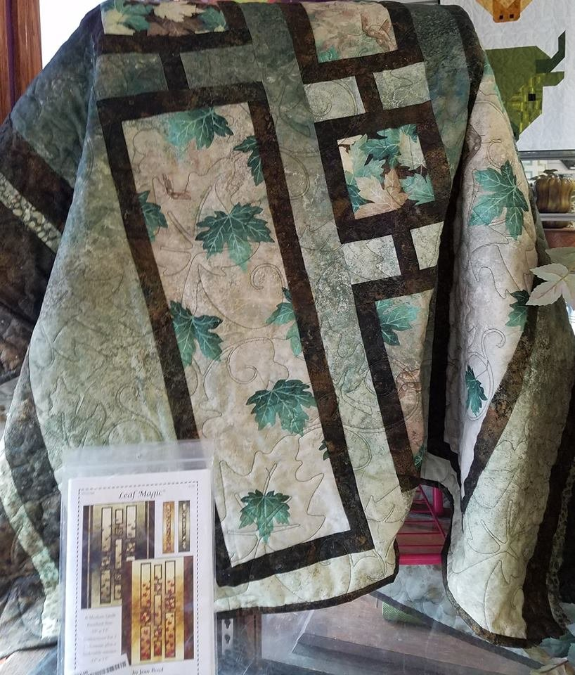 Leaf Magic Quilt Kit