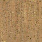 Natural Real Cork Fabric w/Metallic Gold