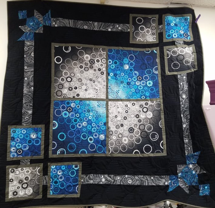 Effervescence Ripples Quilt Kit