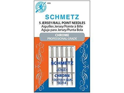 Schmetz Chrome Jersey Needle 90/14