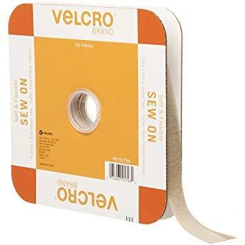 Velcro Soft Flex Beige 5/8