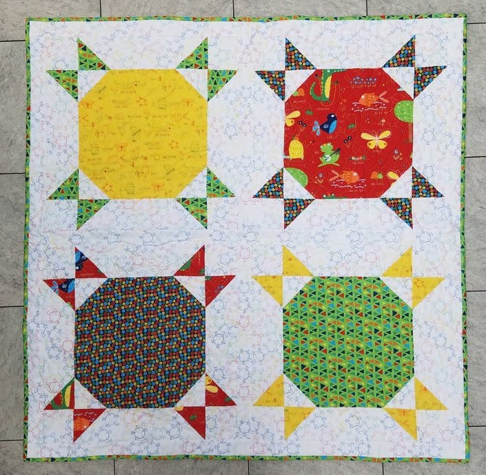 Later Alligator Quilt Kit