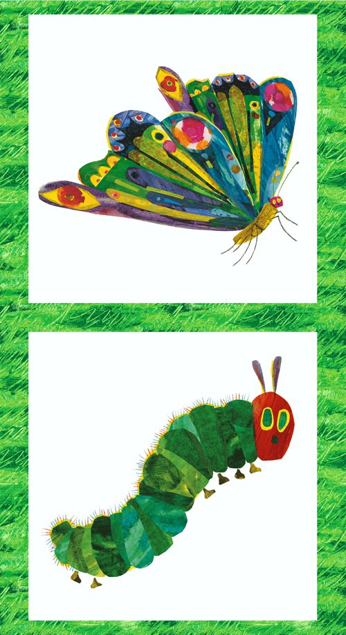 Hungry Caterpillar/Butterfly Panel