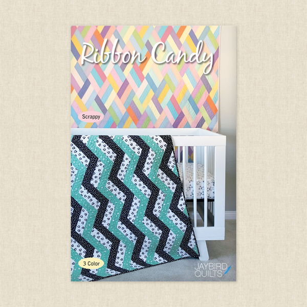 Ribbon Candy by Jaybird Quilts