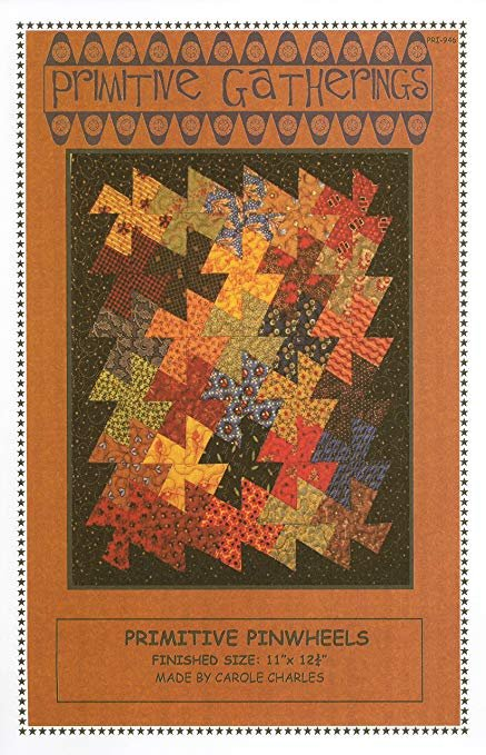 Primitive Pinwheels Tool & Pattern