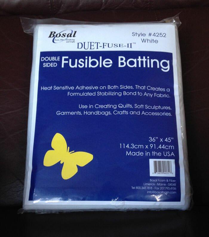 Duet II Fusible Bat 45x36
