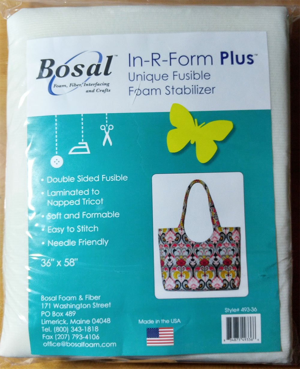 In R Form Fusible Stablzr 36x58