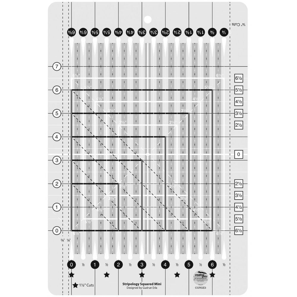 Stripology Mini Quilt Ruler