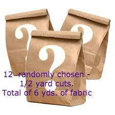 Mystery 1/2 yard bags
