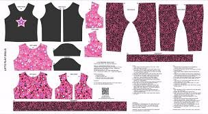Doll Rock Star Outfit Pink