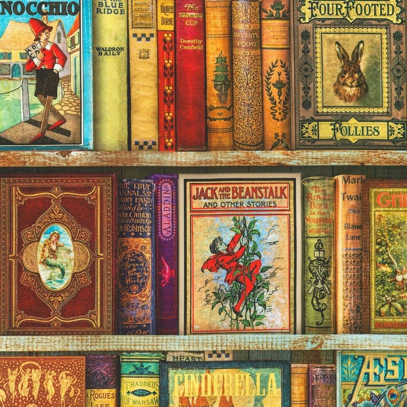 Library of Rarities Vintage Books