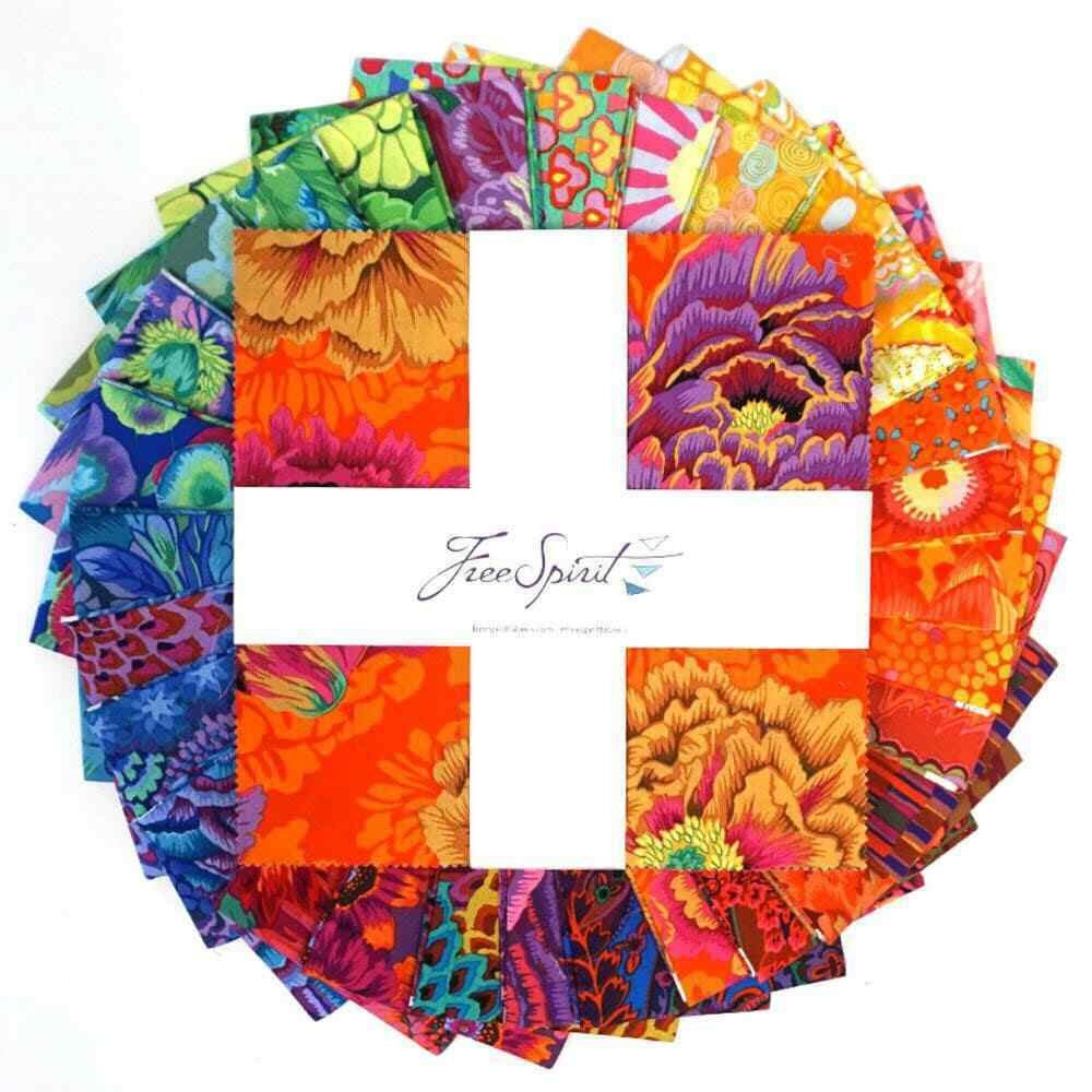 Kaffe Fassett Collective Rainbow Stash 2019 10 squares